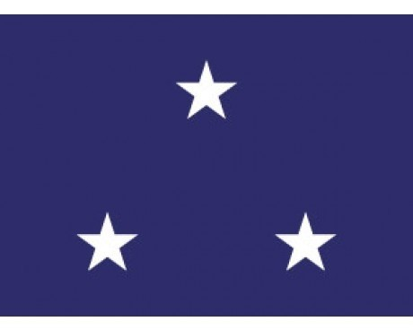 Navy Vice Admiral (3 Star ) - Naval Officer Outdoor Flags