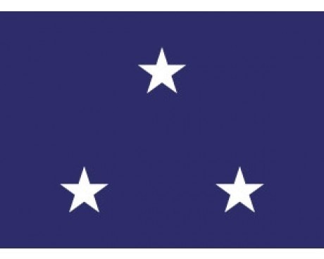 Navy Vice Admiral (3 Stars) - Indoor Naval Officer Flags