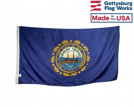 New Hampshire Flag - Outdoor