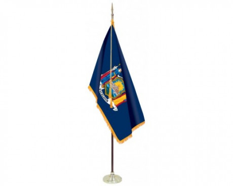 New York State Indoor Flag Set