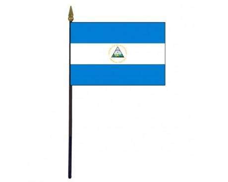 Nicaragua Stick Flag
