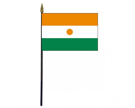 Niger Stick Flag - 4x6""