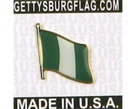 Nigeria Lapel Pin