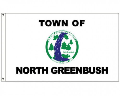 North Greenbush NY Flag