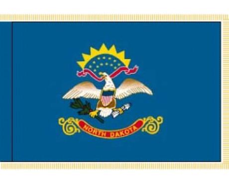 North Dakota Flag - Indoor