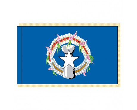 Northern Marianas Flag - Indoor