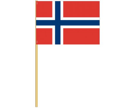 Norway Cotton Stick Flag