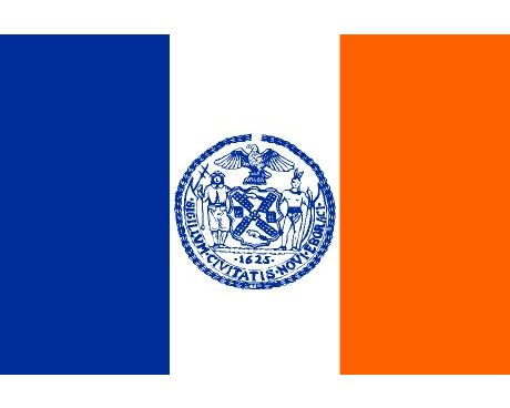 New York City Flag (New York, USA)