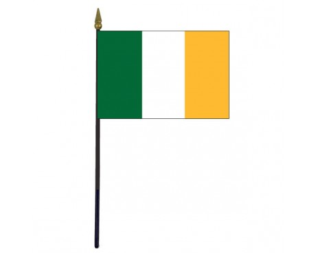 Offaly County Stick Flag (Ireland) - 4x6""