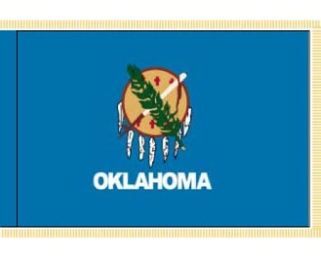 Oklahoma Flag - Indoor