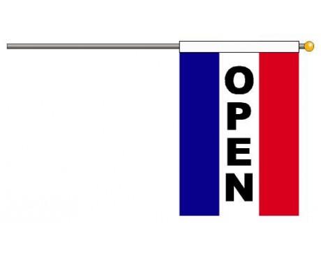 OPEN Flag Set, Vertical