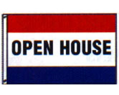 OPEN HOUSE Flag