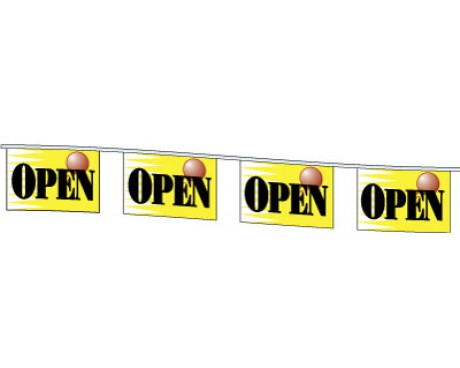 OPEN Rectangle Pennants