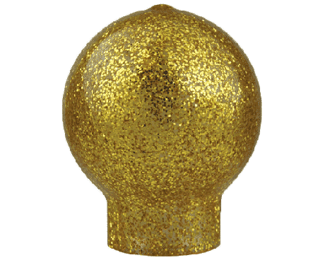 Vinyl Slip-Fit Gold Ball Sm