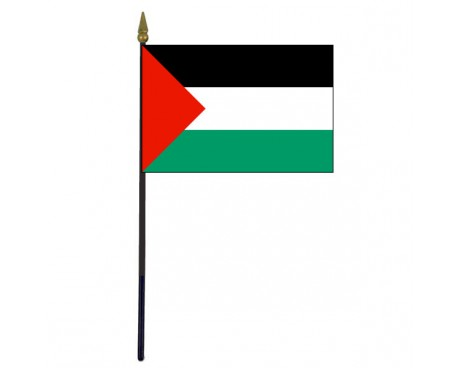 Palestine Stick Flag - 4x6""