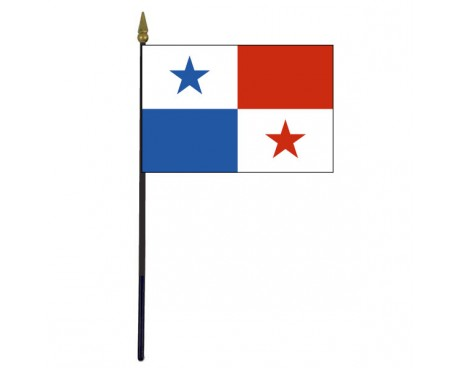 Panama Stick Flag - 4x6""