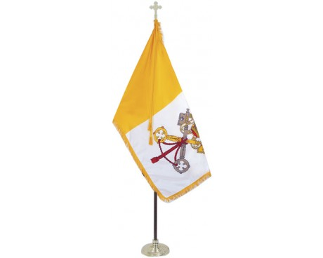 Vatican City (Papal) Indoor Flag Set