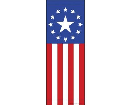 Stars & Stripe Avenue Banner