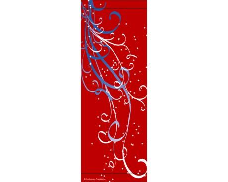 Patriotic Swirl Avenue Banner