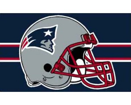 New England Patriots Flag (Big Helmet)