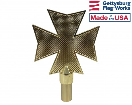 Maltese Cross Fire Topper