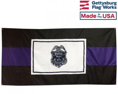 Police Officer Casket Drape 1