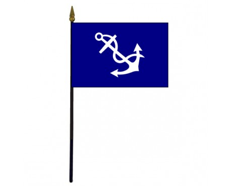 Port Captain Stick Flag - 4x6""