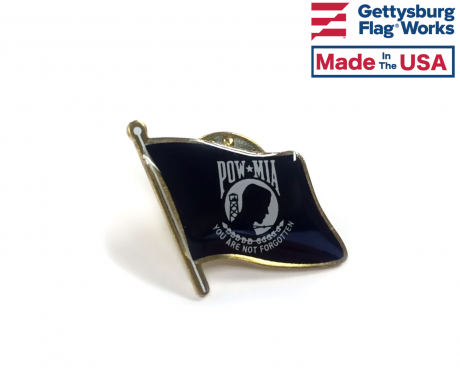 POW/MIA Flag Pin
