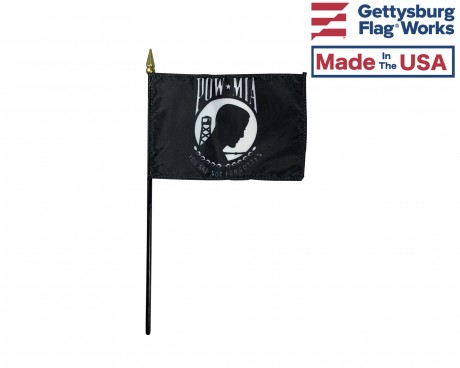 POW MIA stick flag