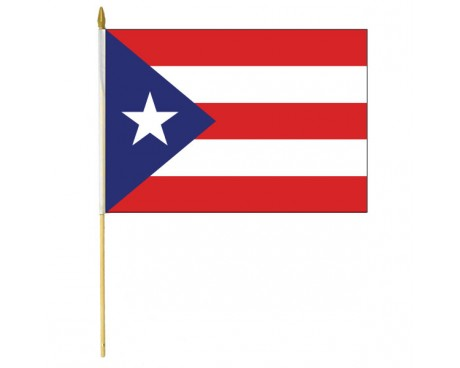 Puerto Rico Stick Flag