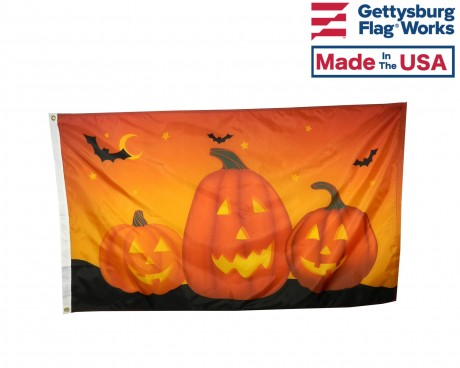 Pumpkin Flag - 3x5'