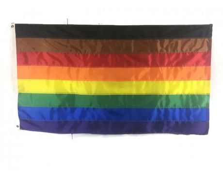 Philadelphia Rainbow Flag