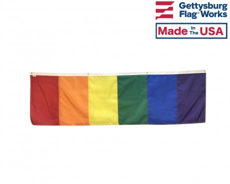 Rainbow Banner Fat Front