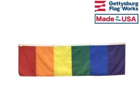 Rainbow Banner Fat Front