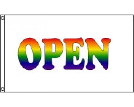 Rainbow OPEN Flag