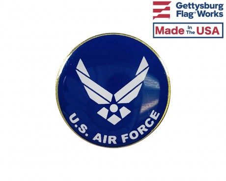 Air Force Wings Round Lapel Pin