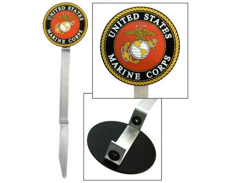 Flagg Staff Marine Emblem