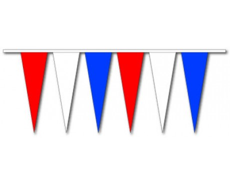 Red/White/Blue Skinny Triangle Pennants