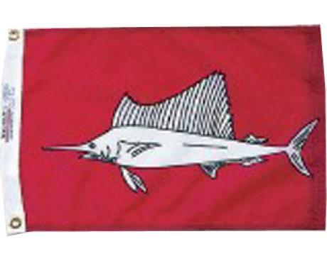 """Sailfish Flag - 12x18"""""""