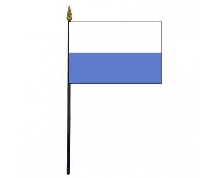 "San Marino Stick Flag - 4x6"""