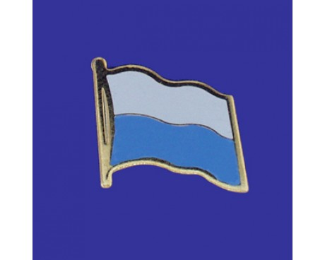 San Marino Lapel Pin (Single Waving Flag)