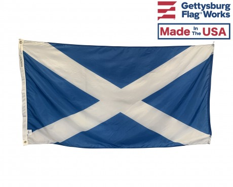 Scotland Flag (With Cross) - St. Andrew's Cross