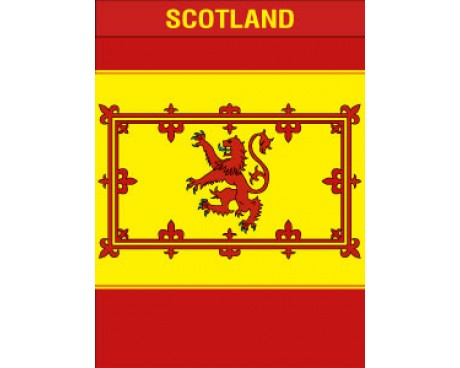 Scotland Lion Garden Flag