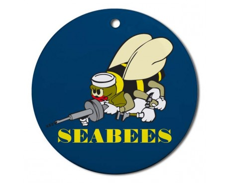Christmas Ornament Seabee