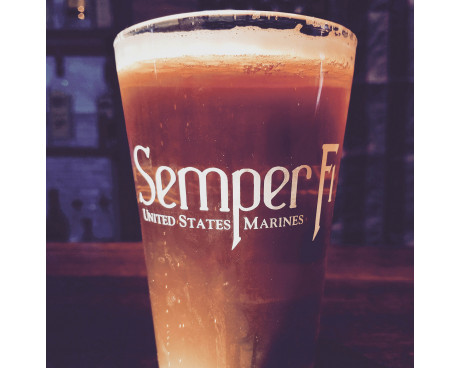 Marine Corps Pint Glass