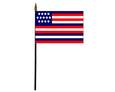 Serapis Stick Flag - 4x6""