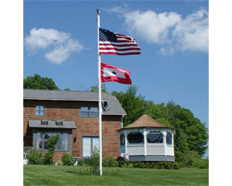 Fiberglass In-Ground Flagpole