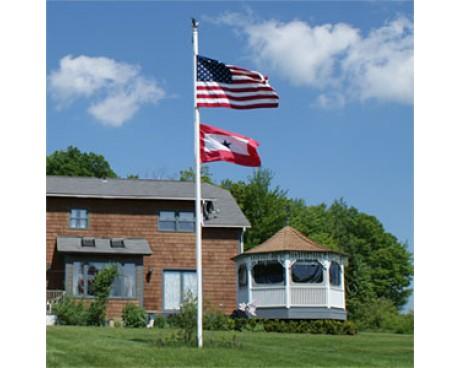 Fiberglass In-Ground Flagpole