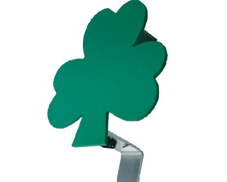 shamrock flag holder