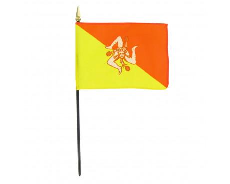 "4x6"" Sicily Stick Flag"